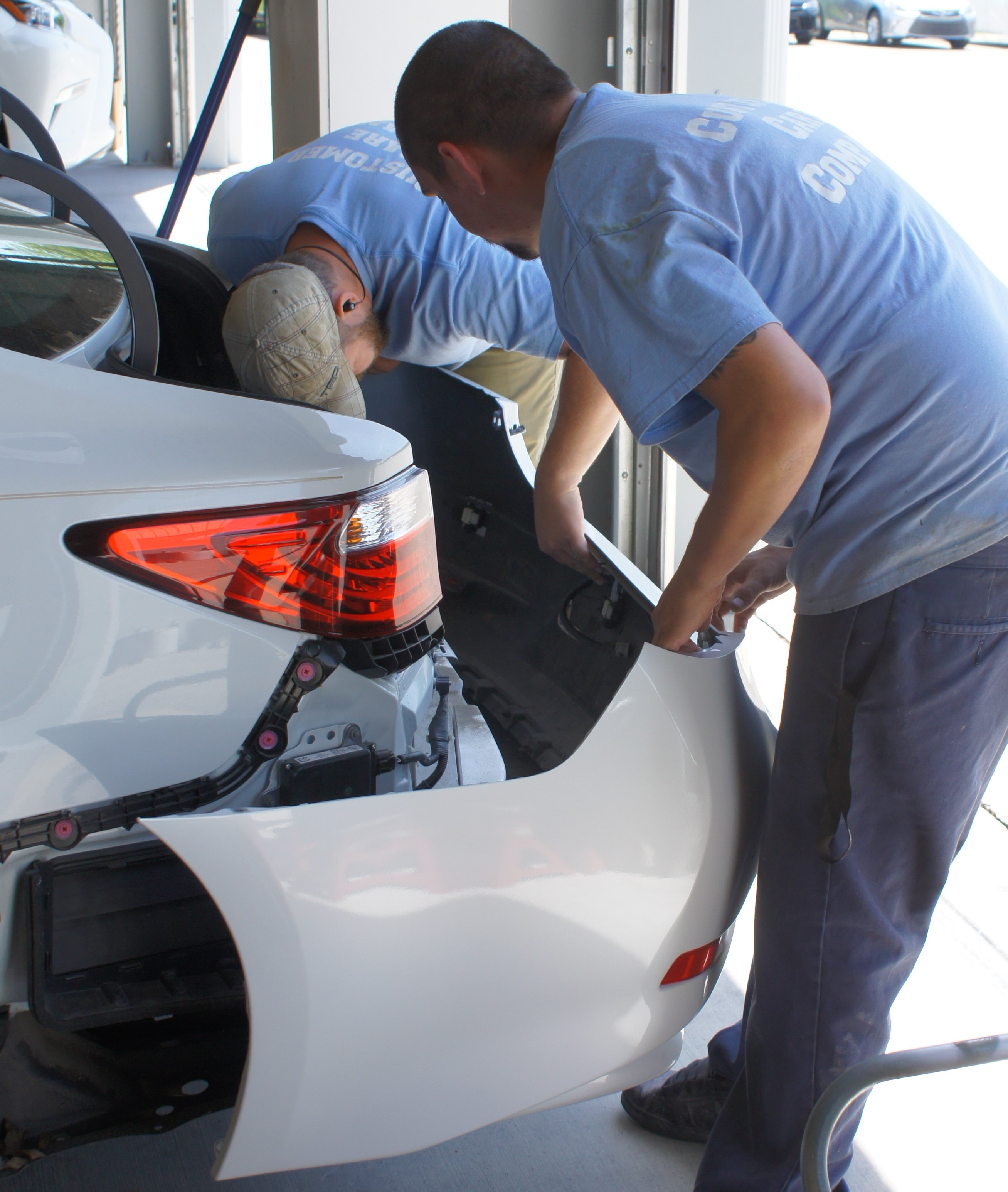 Knoxville S Bumper Repair Experts Parkside Detail And Accessories
